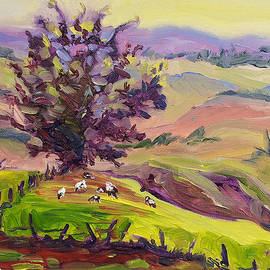 Ekaterina Chernova - Violet Mountains at Sunrise