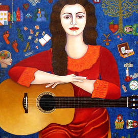 Madalena Lobao-Tello - Violeta Parra and the song Thanks to Life