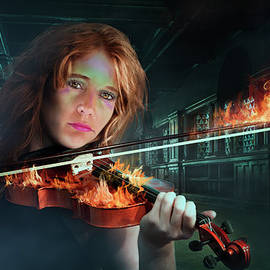 Ronel Broderick - Violin on Fire
