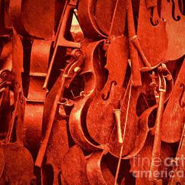 Kathleen K Parker - Violin Sculpture