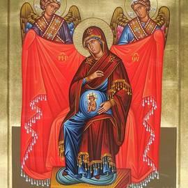 Theodoros Patrinos - Virgin Mary in pregnancy