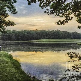 Bob and Nadine Johnston - Virginia Lynchburg Thousand Trails Sunset
