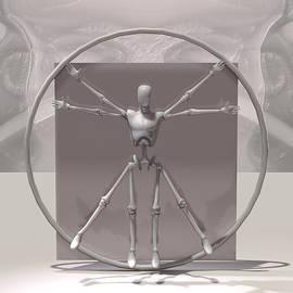 Joaquin Abella - The Vitruvian Man by Quim Abella