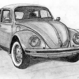 Steve Fribek - Volkswagen beetle car.