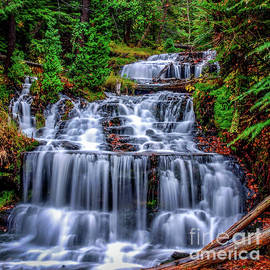 Optical Playground By MP Ray - Wagner Falls II