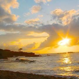Keith Craig Allen - Waimea Bay Sunset 1