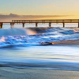 Hawaii  Fine Art Photography - Waimea Pier Sunset
