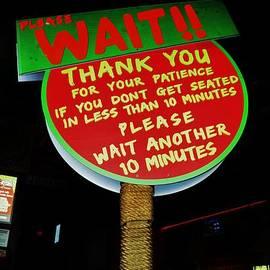 Bob Sample - Ten Minute Wait