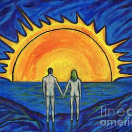 Roz Abellera Art - Waiting for the Sun