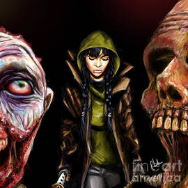 Chelsea Perez - Walking dead fan art