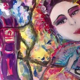 Judith Desrosiers - Walking in the Japanese garden