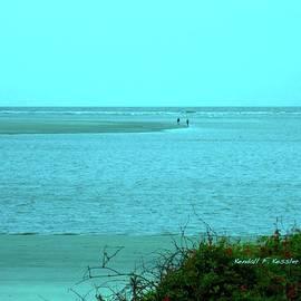 Kendall Kessler - Walking in the Water at Isle of Palms