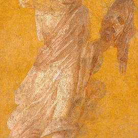 Roman School - Wall fragment of a Muse