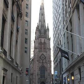 John Telfer - Wall Street leading to Trinity Church