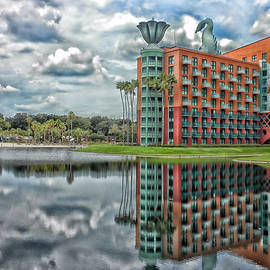 Thomas Woolworth - Walt Disney World Dolphin Resort After The Storm