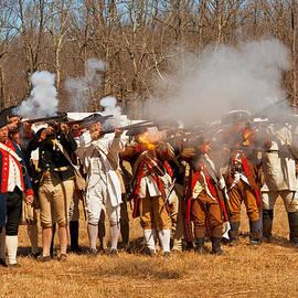 Mike Savad - War - Revolutionary War - The musket drill