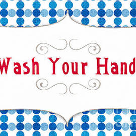 Linda Woods - Wash Your Hands Sign