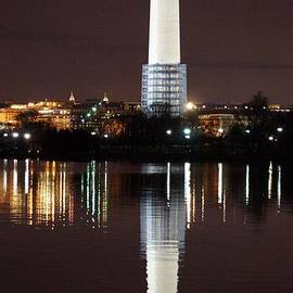 John Wall - Washington Monument Reflections