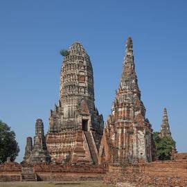 Gerry Gantt - Wat Chaiwatthanaram Central Prang and Side Chedi DTHA0183