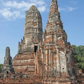 Gerry Gantt - Wat Chaiwatthanaram Central Prang from the Ubosot DTHA052