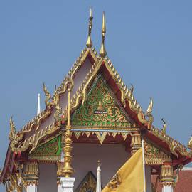 Gerry Gantt - Wat Kampaeng Phra Ubosot Gable DTHA0143