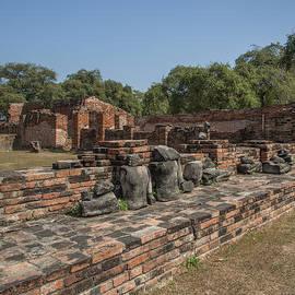 Gerry Gantt - Wat Phra Ram Broken Buddha Images DTHA0169