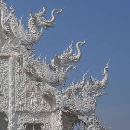 Gerry Gantt - Wat Rong Khun Ubosot Gable Finials DTHCR0016
