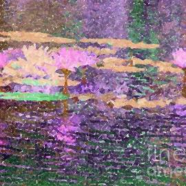 Barbie Corbett-Newmin - Water Lilies and Reflections