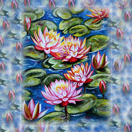 Harsh Malik - Water Lilies Fantasy