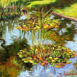 Dominique Amendola - water lilies in California
