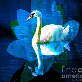 Annie Zeno - Water Lily And Swan
