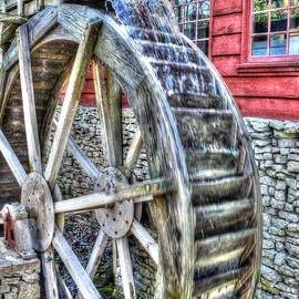 John Straton - Water Wheel on Mill