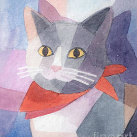 Lutz Baar - Watercolor Cat