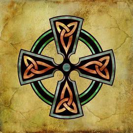 Kandy Hurley - Watercolor Celtic Circle