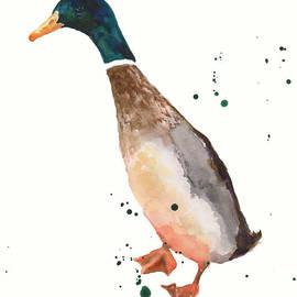 Alison Fennell - Watercolor Duck