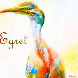 Barbara Chichester - Watercolor Egret