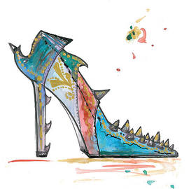 Marian Voicu - Watercolor fashion illustration art