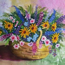 Reta Haube - Watercolor floral