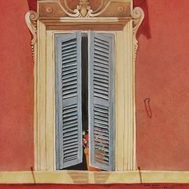 Mary Ellen  Mueller Legault - Watercolor Roman Holiday