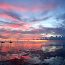 Rachel Cash - Watercolor Sunset