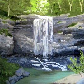 Susan Plenzick - Waterfall 8