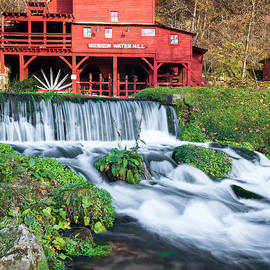 Gregory Ballos - Waterfall and Hodgson Mill - Missouri