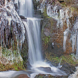 David Birchall - Waterfall and ice