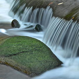 Frozen in Time Fine Art Photography - Waterfall Close Up
