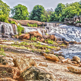 Elvis Vaughn - Waterfall in Contrast