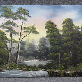 Kevin Hill - Waterfall in the Trees