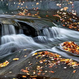 Frozen in Time Fine Art Photography - Waterfall Simplicity