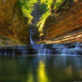 Wayne Moran - Waterfalls at Watkins Glen State Park