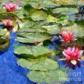 Dragica  Micki Fortuna - Waterlilies From Giverny