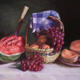 Walter Lynn Mosley - Watermelon and Fruit